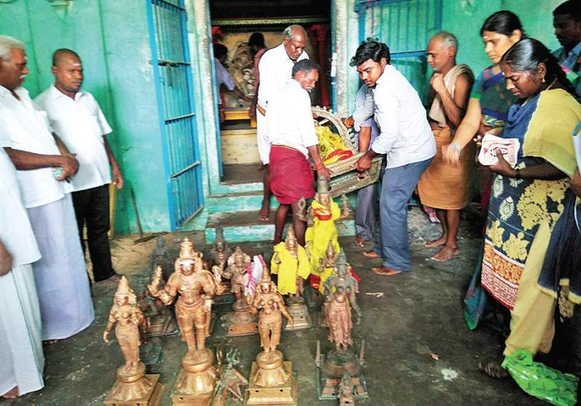 Ages-old Idols Recovered From Centuries-old Hindu Temple in Tamilnadu_Punyakshetram
