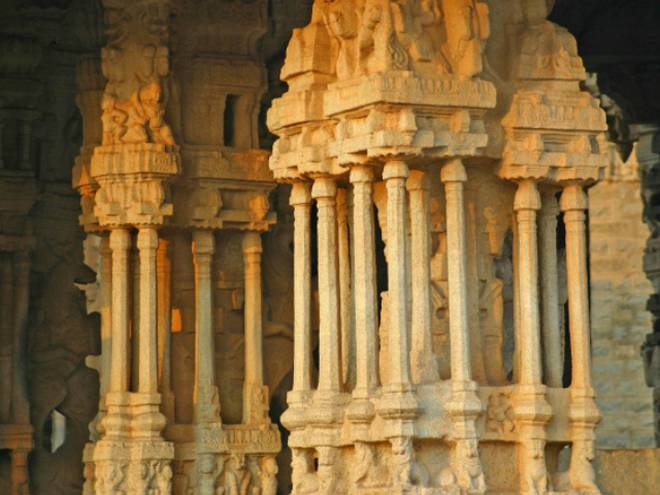 Indian Temples of Musical Pillars